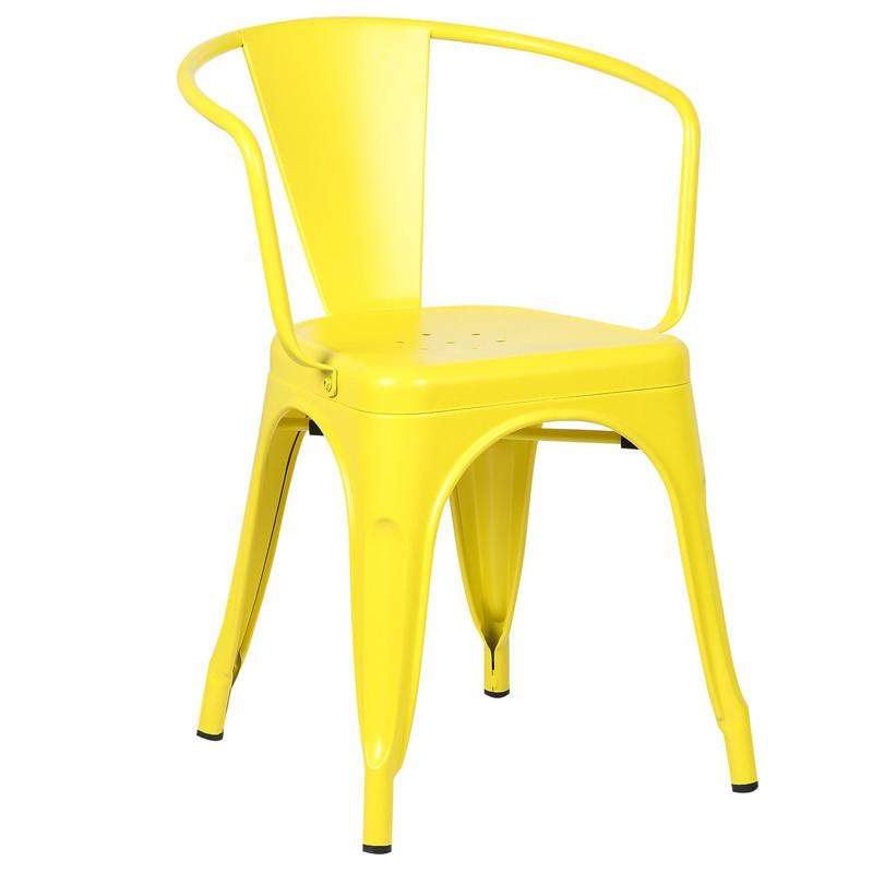 Edgemod Arm Chair Yellow Trattoria