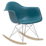 EdgeMod EM-121-TEA Rocker Lounge Chair in Teal