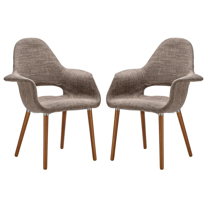 Edgemod Dining Chair Taupe Barclay