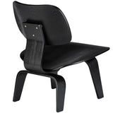 EdgeMod EM-184-BLK Isabella Lounge Chair in Black
