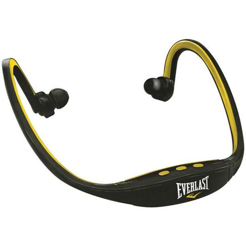 Everlast EV6831 Head Rock Bluetooth Headphones with Microphone (Yellow) - Peazz.com