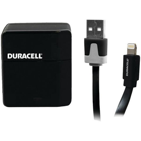 Duracell PRO173 1-Amp USB Wall Charger with Lightning Cable - Peazz.com