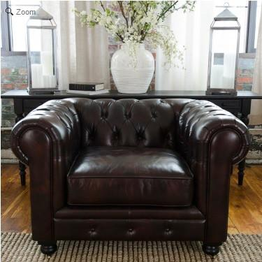 Top Grain Leather Standard Chair Saddle Estate 454 Product Photo