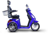 EWheels Ew-36B 3 Wheel 350Lbs Wt Capacity Scooter High Speed Of 15Mph -Royal Blue