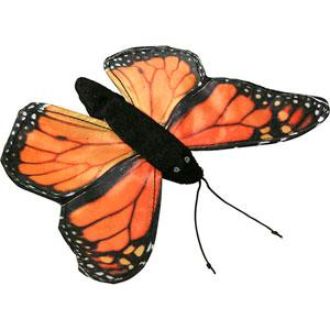 "Sunny Toys 8"" Finger Butterfly (Monarch)"