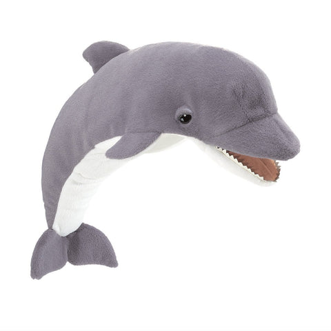 Folkmanis 3031 Dolphin Hand Puppet - Peazz.com