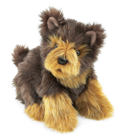 Folkmanis 3039 Yorkie Pup Hand Puppet - Peazz.com