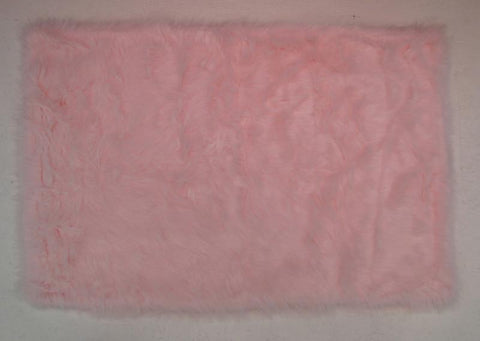 Fun Rugs FLK-010-3958 Flokati Collection LIGHT PINK Light Pink - 39 x 58 in. - Peazz.com