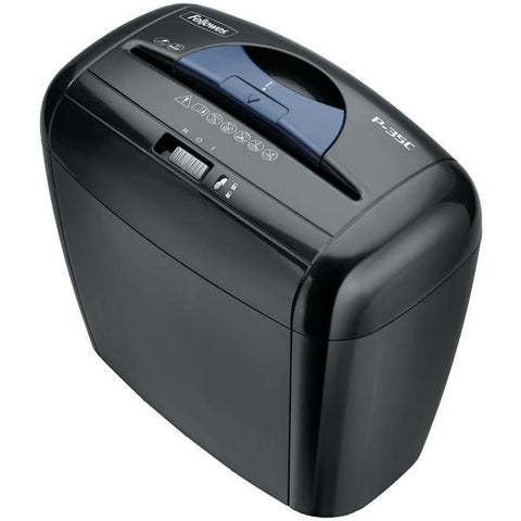 Fellowes 3213501 Powershred P-35C 5-Sheet Cross-Cut Shredder - Peazz.com