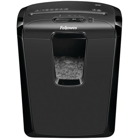 Fellowes 4605801 Powershred 49C 8-Sheet Cross-Cut Shredder - Peazz.com