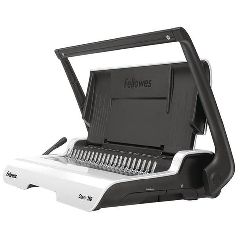 Fellowes 5006501 Star+ Manual Comb Binding Machine - Peazz.com