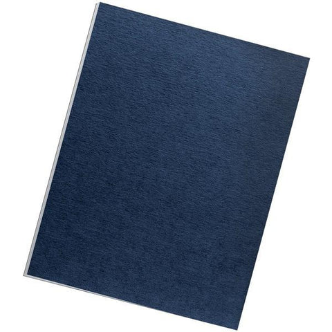 Fellowes 52098 Expression Linen Presentation Covers , Letter, 200pk (Navy) - Peazz.com