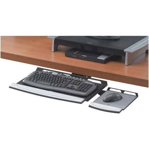 Fellowes 8031301 Office Suites Adjustable Keyboard Tray - Peazz.com