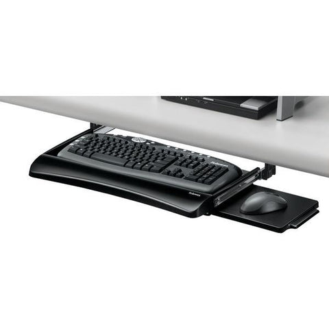 Fellowes 9140303 Office Suites Underdesk Keyboard Drawer - Peazz.com
