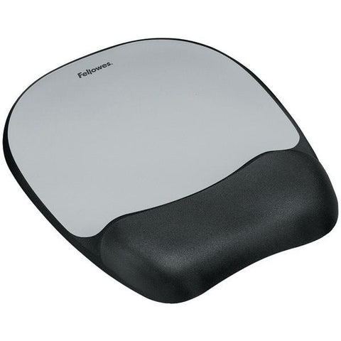 Fellowes 9175801 Memory Foam Mouse Pad with Wrist Rest - Peazz.com