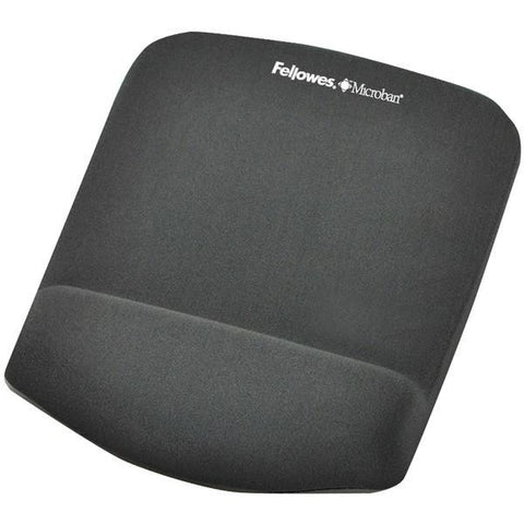 Fellowes 9252201 PlushTouch Mouse Pad Wrist Rest with FoamFusion - Peazz.com