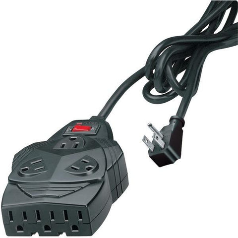 Fellowes 99090 Mighty 8-Outlet Surge Protector, 6ft - Peazz.com