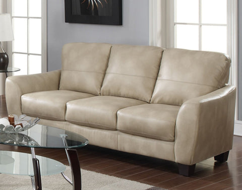 Chintaly FREMONT-SFA-TPE Club Bonded Leather Sofa