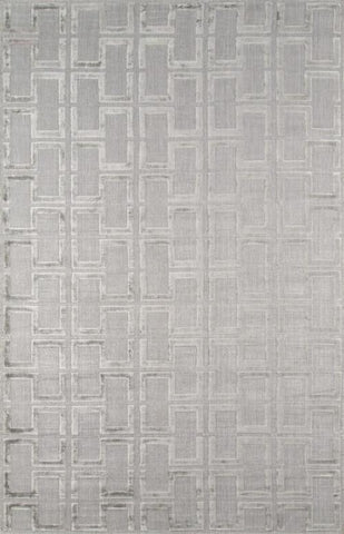 Momeni FRESCFRE-3GRY2380 INDIAN HAND LOOMED Fresco Collection Grey Finish Runner