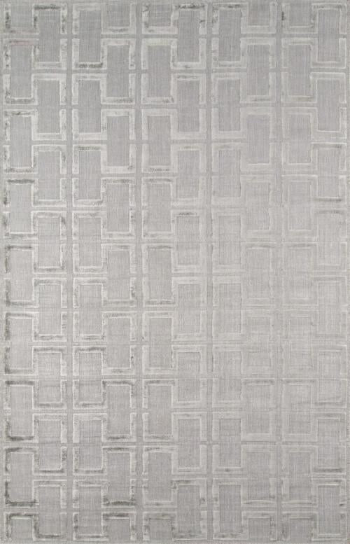 Indian Hand Loomed Collection Grey Rugs 407 Product Photo