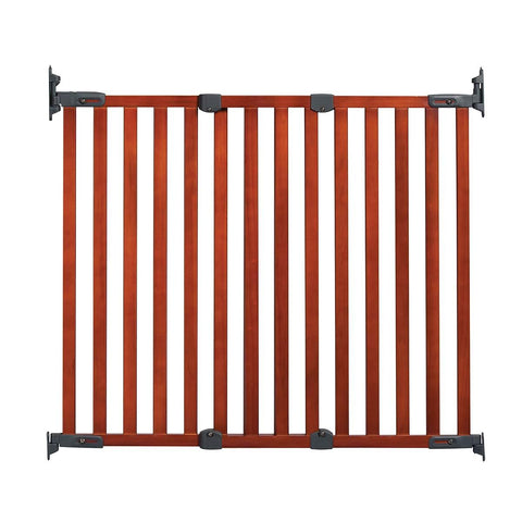 Kidco G2301 Angle Mount Wood Safeway Wall Mounted Pet Gate
