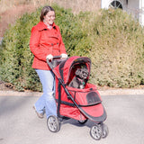 Gen7Pets G2350RG Monaco Pet Stroller for Dogs or Cats