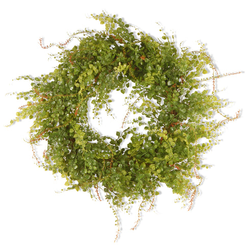 "National Tree GAHB30-22WG Garden Accents 22"" Hotag/Berry Wreath-Green"
