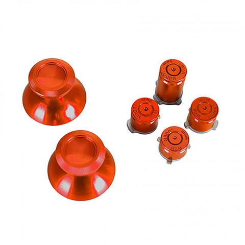 Xbox One Aluminum Buttons & Analog Sticks - Red (GB-XBO-TG2)