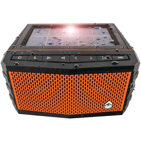ECOXGEAR GDI-EXSJ400 SolJam Solar-Powered Waterproof Speaker (Orange) - Peazz.com