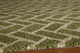 Momeni GEO00GEO-2GRN2030 Chinese Hand Hook Collection Green Finish Rugs 2'X3'