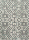 Momeni GEO00GEO16GRY2030 Chinese Hand Hook Geo Collection Grey Finish Rugs