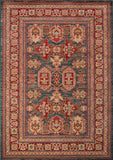 Momeni GHAZNGZ-01BLU5376 Turkish Machine Made Ghazni Collection Blue Finish Rugs