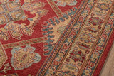 "Momeni GHAZNGZ-02RED93C6 Turkish Machine Made Collection Red Finish Rugs 9'3""X12'6"""
