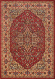 Momeni GHAZNGZ-04RED3B57 Turkish Machine Made Ghazni Collection Red Finish Rugs