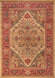 Momeni GHAZNGZ-05BGE7A9A Turkish Machine Made Ghazni Collection Beige Finish Rugs