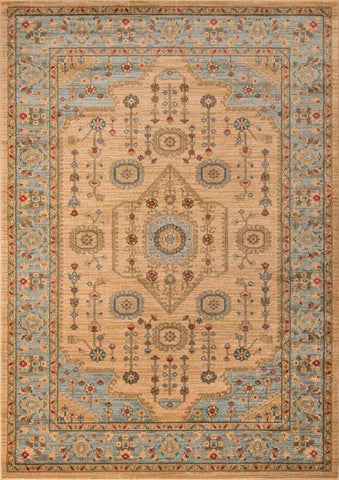 Momeni GHAZNGZ-07BGE5376 Turkish Machine Made Ghazni Collection Beige Finish Rugs