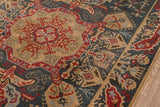 "Momeni GHAZNGZ-08NVY5376 Turkish Machine Made Collection Navy Finish Rugs 5'3""X7'6"""