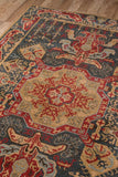 Momeni GHAZNGZ-08NVY2030 Turkish Machine Made Collection Navy Finish Rugs 2'X3'