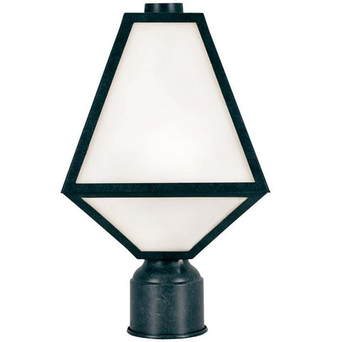 Brian Patrick Flynn for Crystorama Glacier Outdoor 1 Light Post