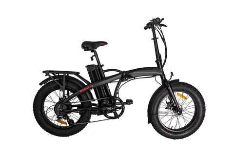 GLARE EB-RE Black Electric bike