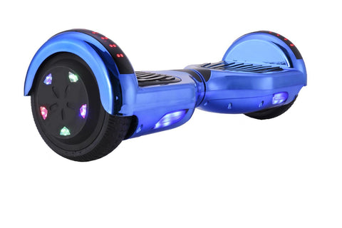 GLARE M1B Chrome-Blue Hoverboard