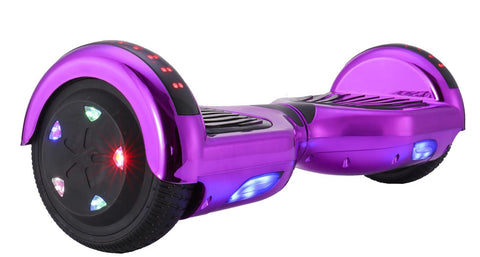 GLARE M1B Chrome-Purple Hoverboard
