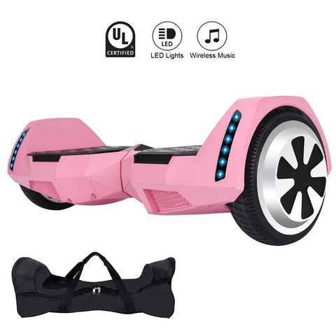 GLARE MR6 Pink Hoverboard