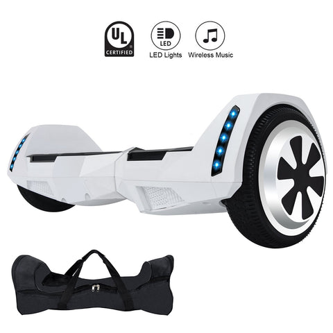 GLARE MR6 White Hoverboard