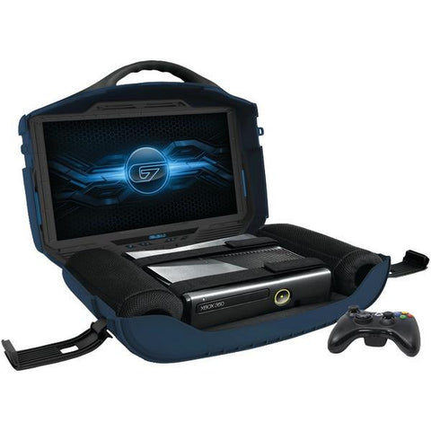 "GAEMS G190 Vanguard Multiconsole Personal Gaming Environment with 19"" LED Display - Peazz.com"