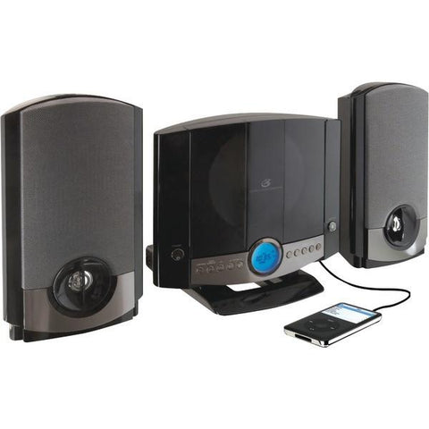GPX HM3817DTBLK CD Home Music System - Peazz.com
