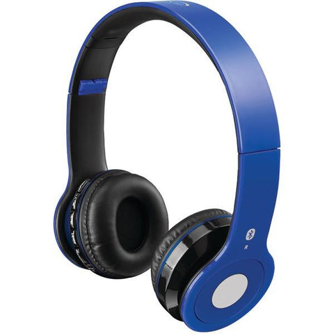 iLIVE iAHB16BU Wireless Headset (Blue) - Peazz.com