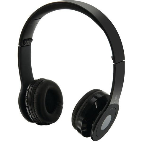 iLIVE IAHB16B Over-Ear Wireless Headset with Microphone (Black) - Peazz.com
