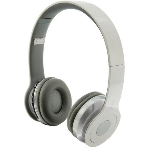 iLIVE IAHB16W Over-Ear Wireless Headset with Microphone (White) - Peazz.com
