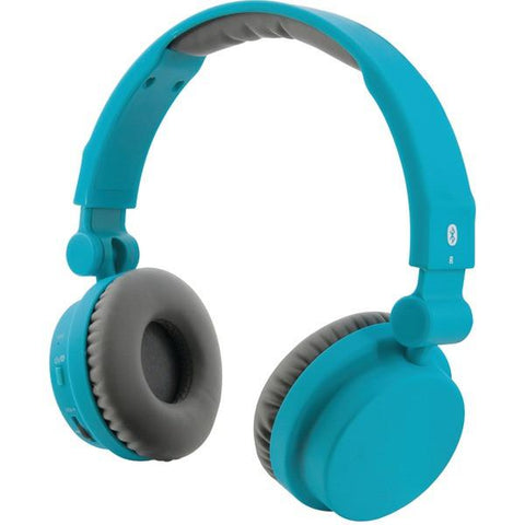 ILIVE IAHB45TL Bluetooth Headphones with Microphone (Matte Teal) - Peazz.com